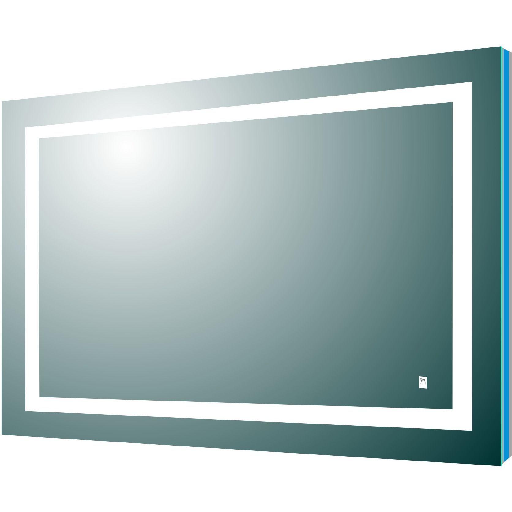 Eviva Deco Piece 42 Backlit Led Mirror With Frame Lights