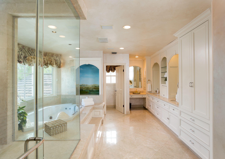 Elegant master bathroom design // Special Olympics Southern