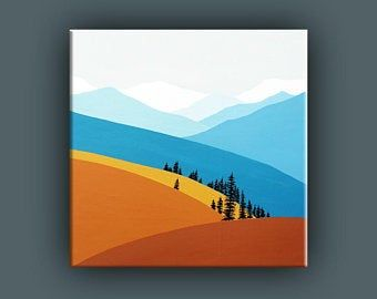 Original Painting Contemporary Art Large Acrylic Painting | Etsy