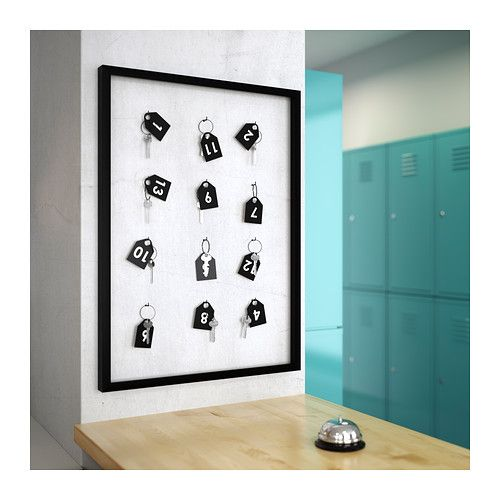 RIBBA Frame, black | Wall ideas, Gallery wall and Walls