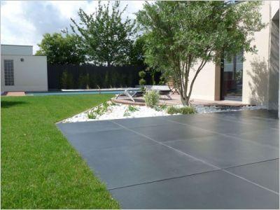 Les 25 meilleures id es de la cat gorie dalle en beton sur for Peinture beton exterieur terrasse