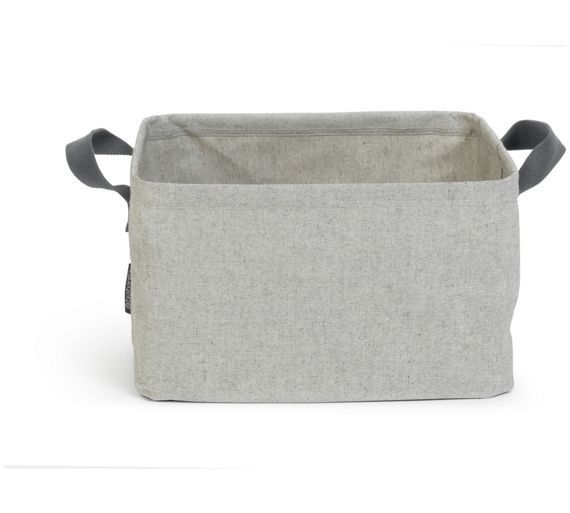 Brabantia Foldable Laundry Basket Grey At Argos Co Uk Visit To Online For Linen Baskets And Bins Cleaning