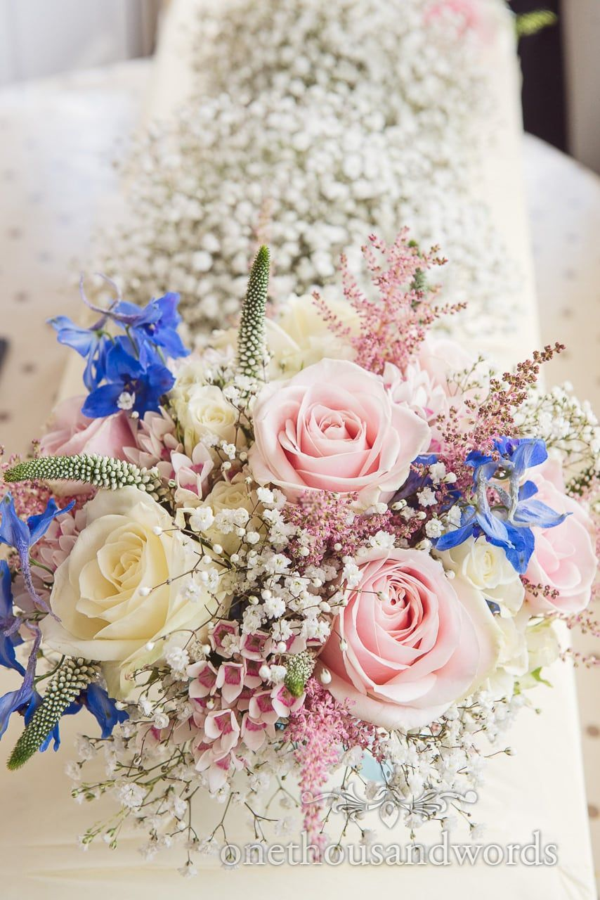 Gorgeous pastel countryside flowers wedding bouquet with pink and gorgeous pastel countryside flowers wedding bouquet with pink and cream roses photography by one thousand words wedding photographers izmirmasajfo