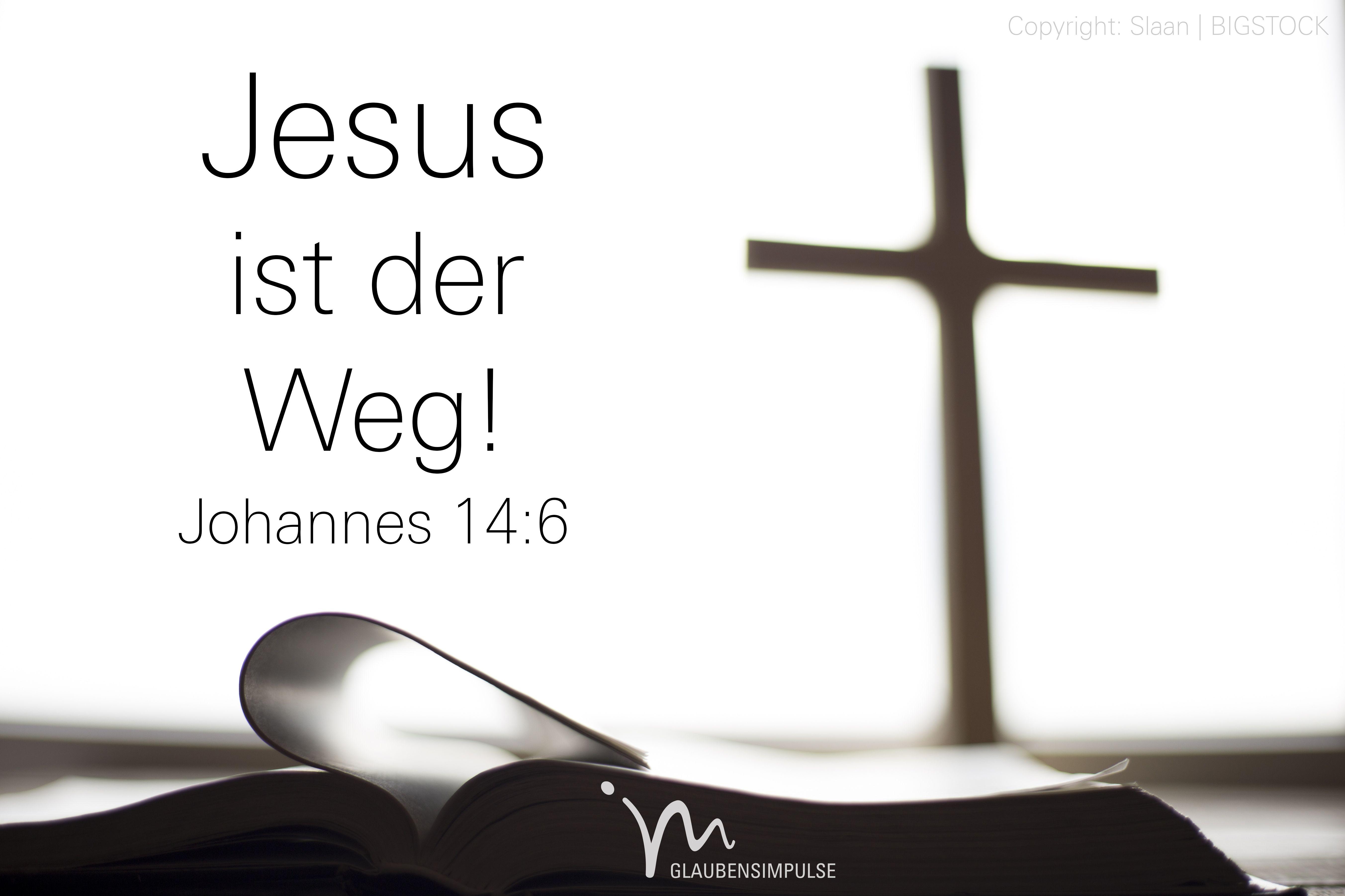Gott jesus zu der weg 1.12 Warum