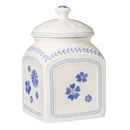 Villeroy & Boch Farmhouse Touch Blue Flowers Canister(s ...