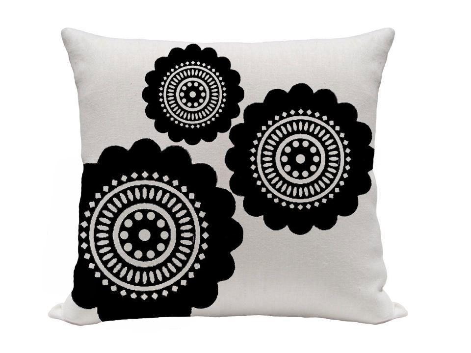 Large Flower Printed Pillow 40 Inch Pillow Throw Pillow Accent Beauteous Gracious Home Decorative Pillows