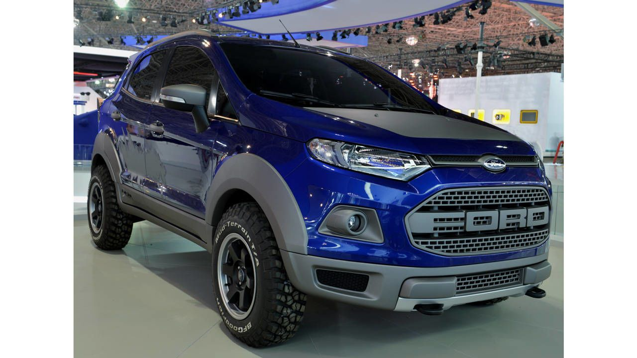 The Ford Fiesta Based Baby Raptor We Want Ford Ecosport Ford Suv Ford