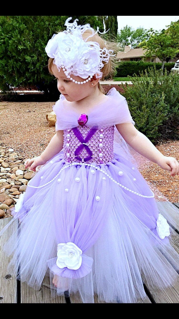 sofia the first dress- princess tutu dress- princess dress- disney