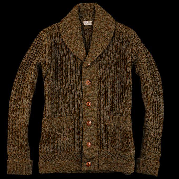 UNIONMADE - Journal Standard - British Wool Shawl Collar Cardigan ...