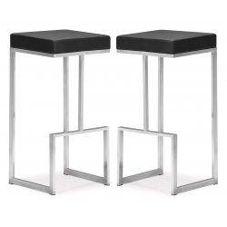 Darwen Bar Chair Set Of 2 By Zuo Modern 360 Bar Chairs Bar Stools Chair