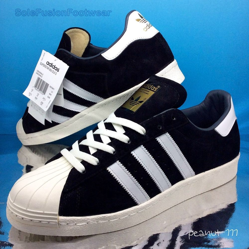 Black White Adidas Superstar Trainers UK Sale | Womens Mens
