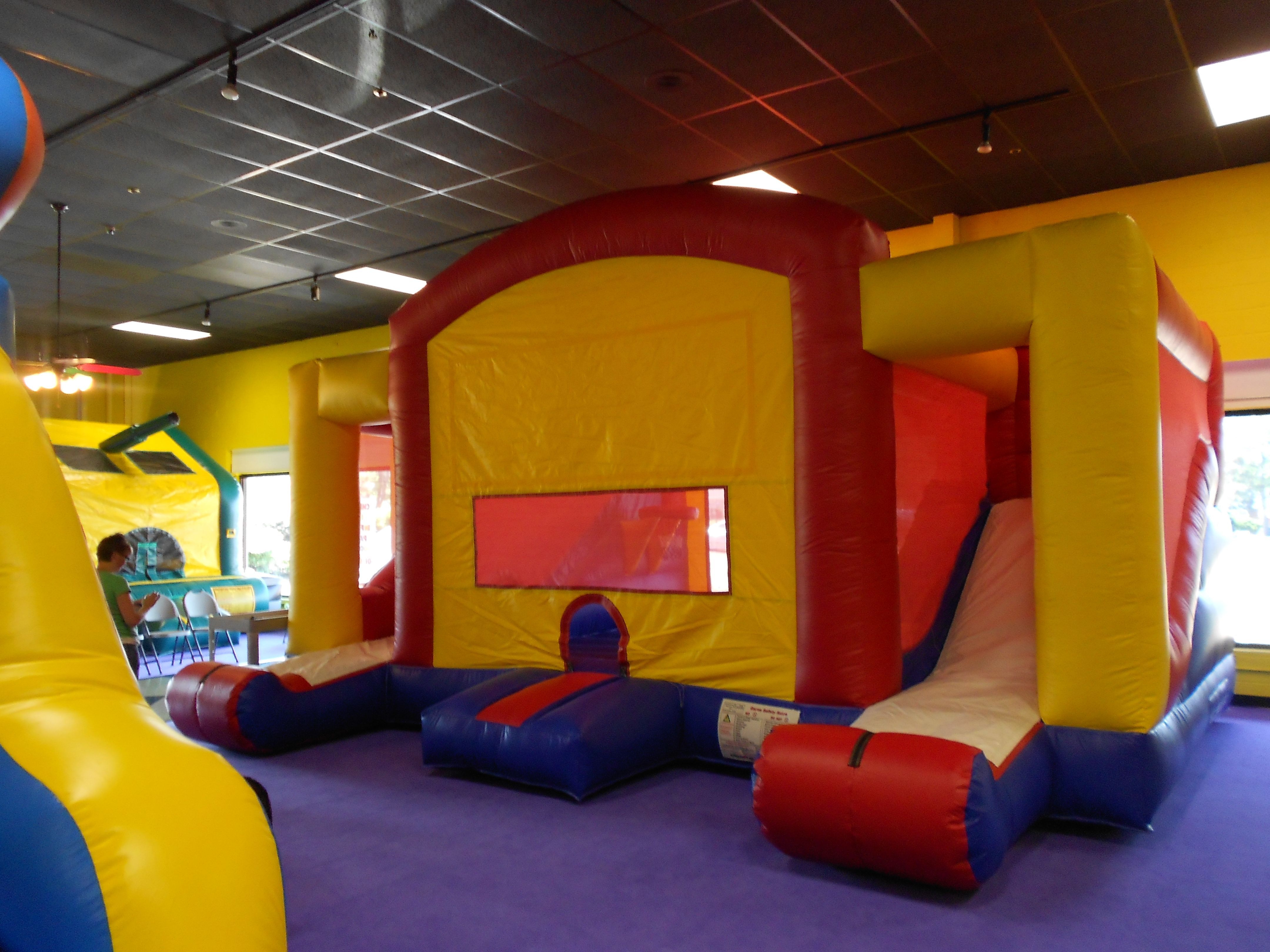 The Bounce Place Ridgeland Ms Toddler Playground Playground Equipment Playground