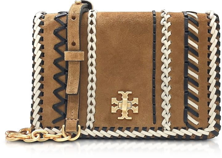 deeda784b3d0 Tory Burch Kira Whipstitch Hazel Suede Mini Crossbody Bag. Clutch and  pochette fashions. I m an affiliate marketer. When you click on a link or  buy from the ...