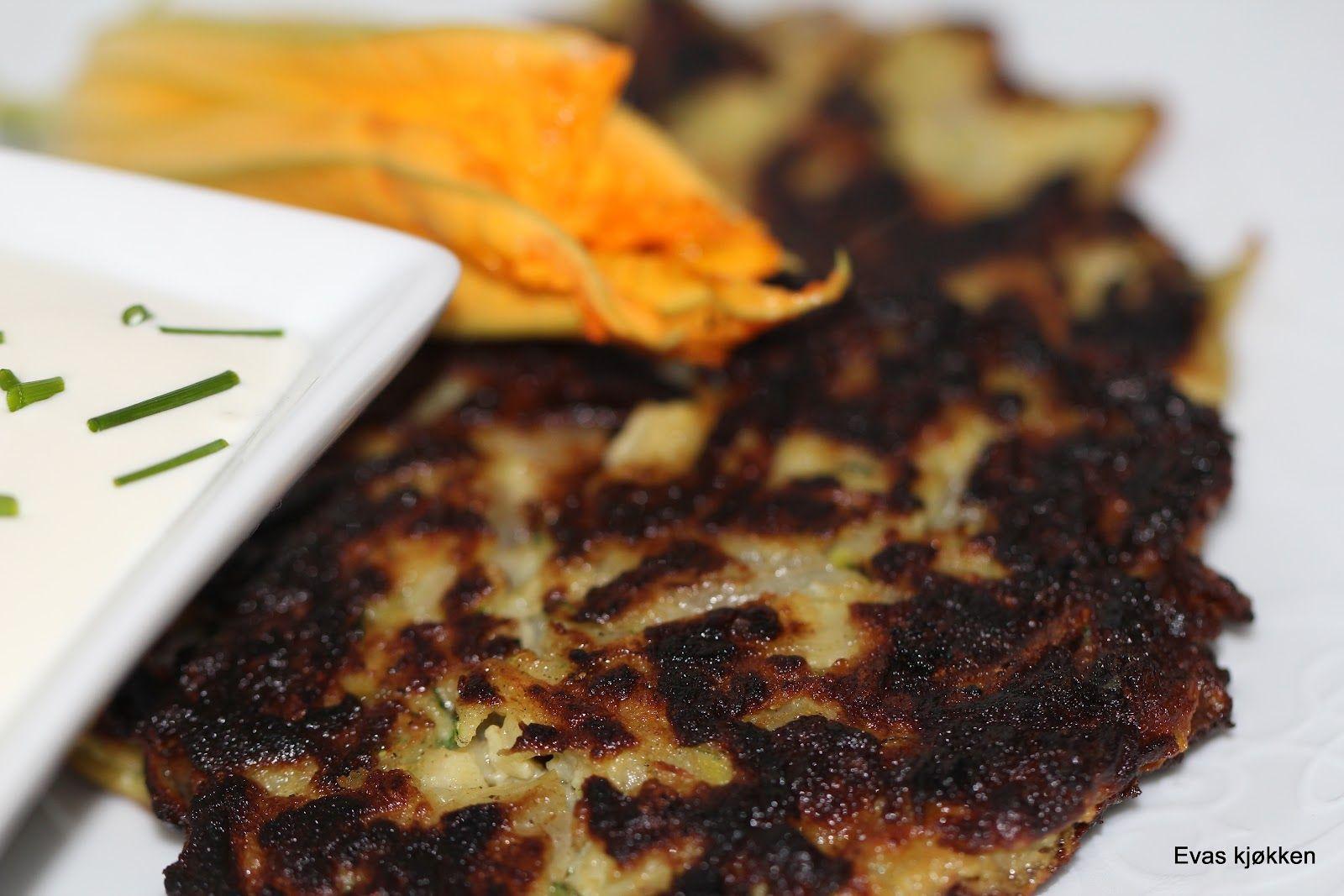 Evas kjøkken: Zucchini kaker