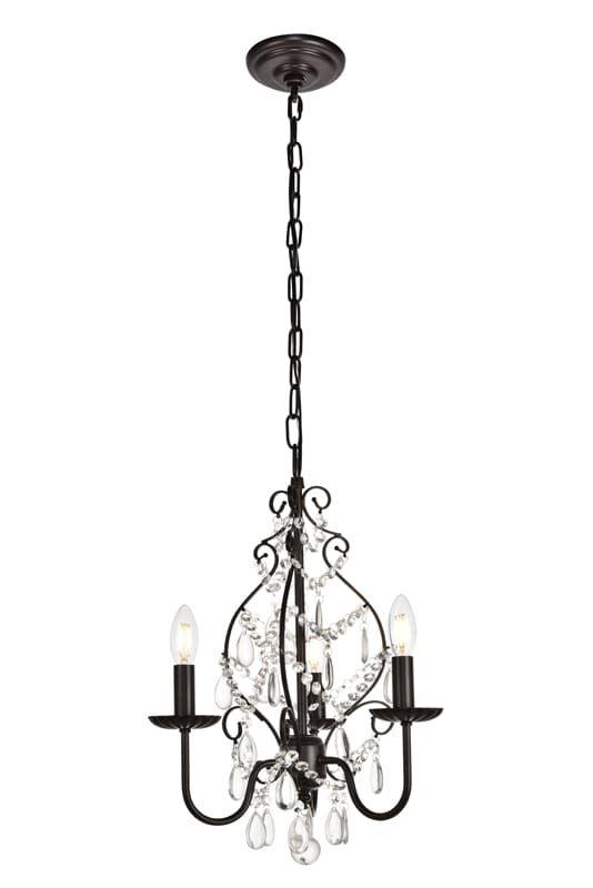Elegant Lighting Ld5003d15 Chandelier Mini Chandelier Shimmer
