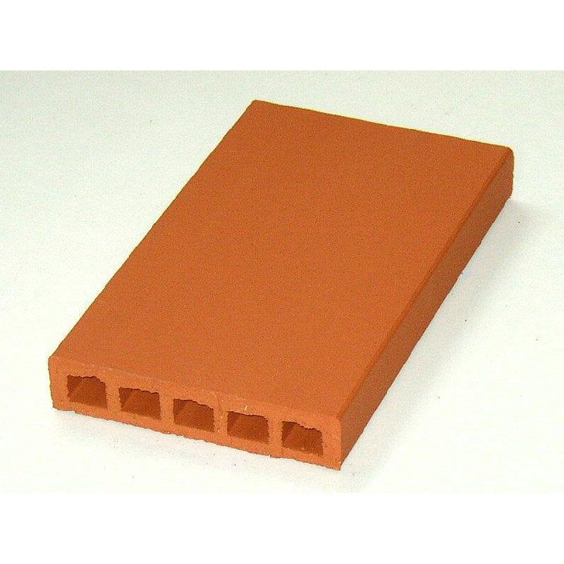 Couvre Mur Plat Lisse Rouge H5 X L40 X P23 Cm Products