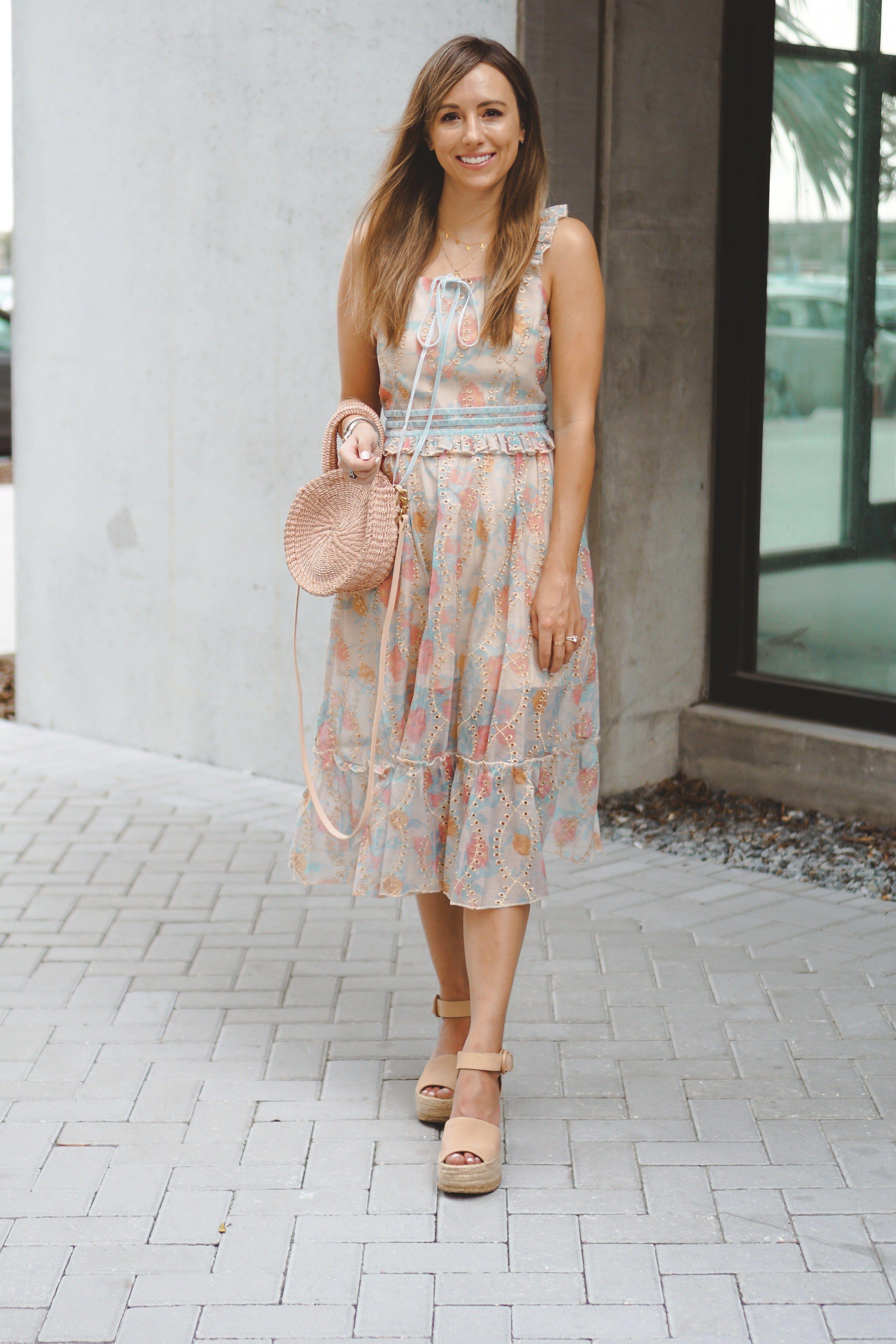 Dresses For Summer 2019 Styledjen Summer Dresses Dresses Floral Blue Dress [ 4951 x 3300 Pixel ]