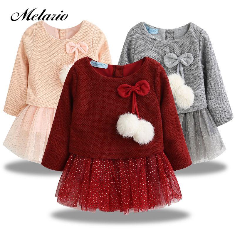 99fa46c42 Cheap 2019 Otoño e Invierno ropa de bebé niñas de manga larga Zara Niños