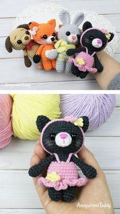 Tiny kitty cat amigurumi pattern - Amigurumi Today,  #Amigurumi #Amigurumifreepatternanimalstiny #Cat #Kitty #Pattern #Tiny #Today