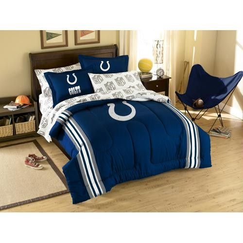 Indianapolis Colts Nfl Bed In A Bag Full Patriots