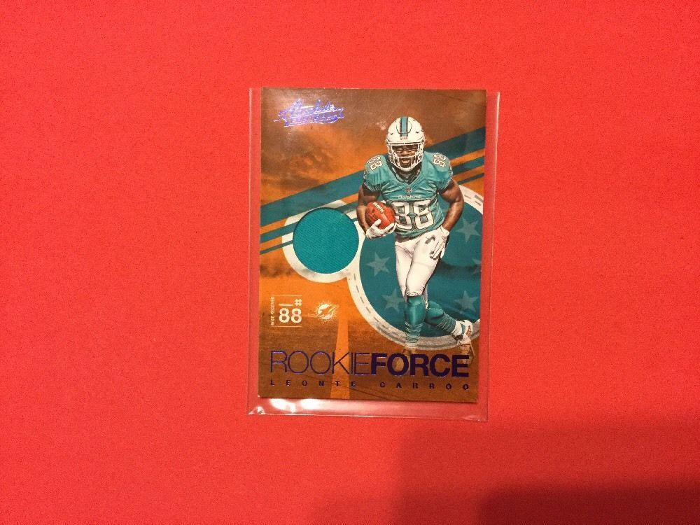 2016 absolute rookie force leonte carroo miamidolphins