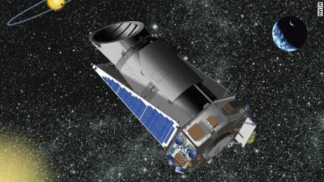 NASA's Kepler is in trouble -- far, far away.  The telescope that searches for habitable planets has gone into emergency mode 75 million miles away from home.