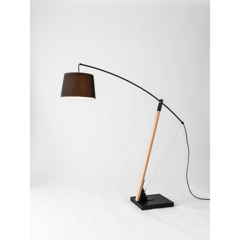 Seed Design Sq 603flr Bk Black Archer 3 Light 72 3 8 High Boom Arm Floor Lamp Arm Floor Lamp Floor Lamp Lamp
