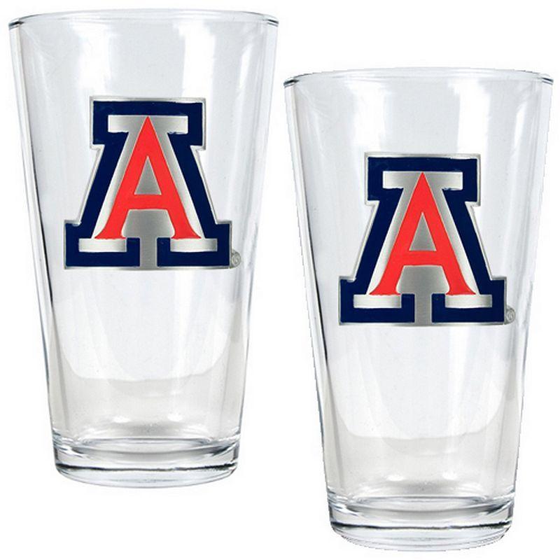 Arizona Wildcats 2pc. Pint Glass Set, Multicolor Pint