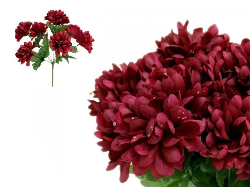 84 silk chrysanthemum burgundy silk flowers factory dream 84 silk chrysanthemum burgundy silk flowers factory mightylinksfo
