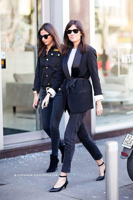 11 Ways To Wear Kitten Heels | Emmanuelle Alt #style #fashion ...
