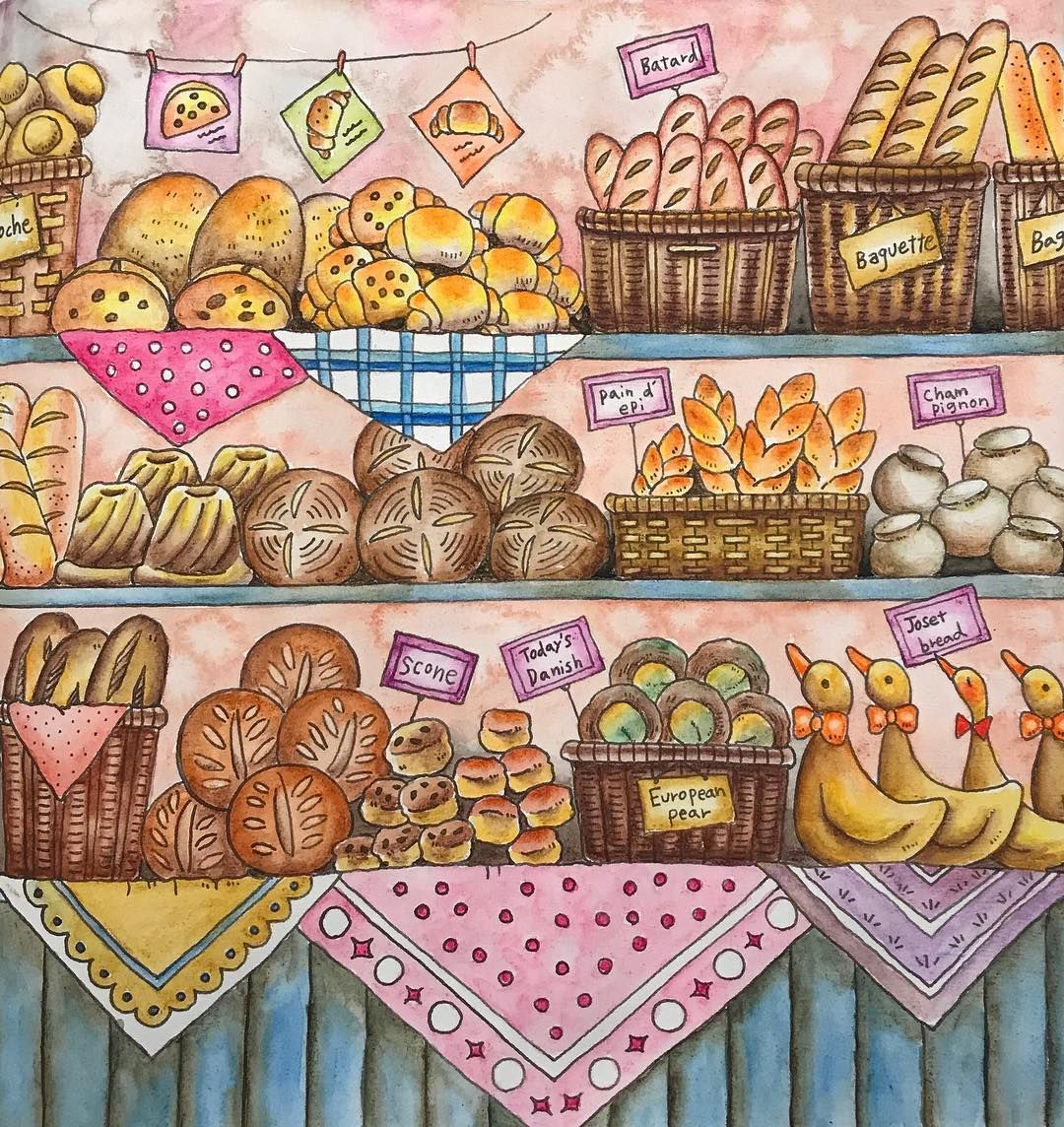 From Romantic Country A Fantasy Colouring Book By Eriy Pauline S Bakery ロマンチックカントリー 美しい城が佇む国 Used Coloring Book Art Coloring Books Romantic Country