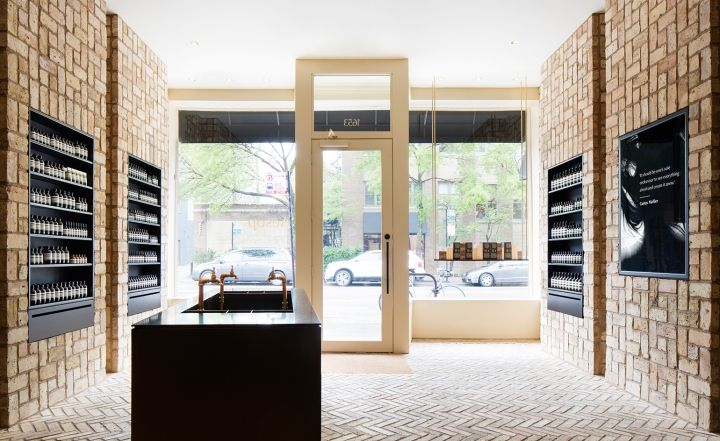 Aesop Store By Norman Kelley Chicago Illinois Retail Design Blog