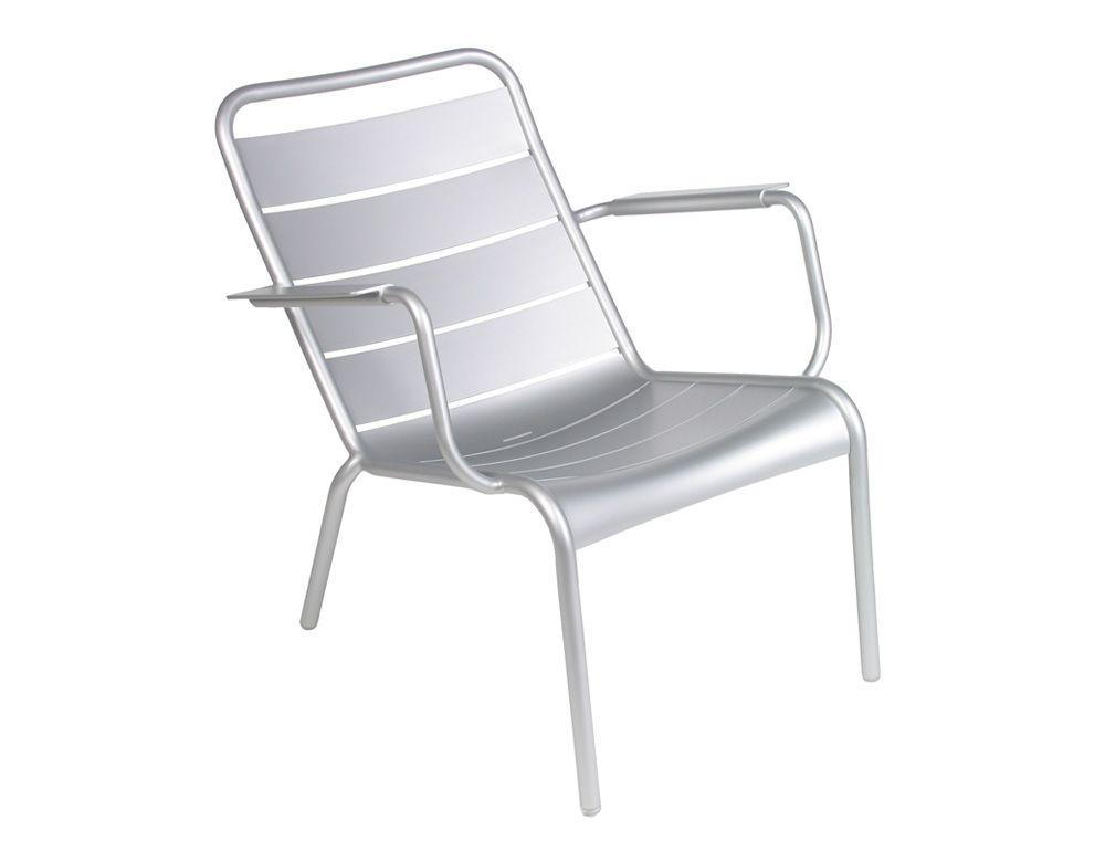 Fauteuil bas Luxembourg, fauteuil de jardin pour salon de jardin ...
