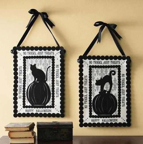 Elegant Halloween Decor Halloween Decorating  Crafts Pinterest - ideas halloween decorations