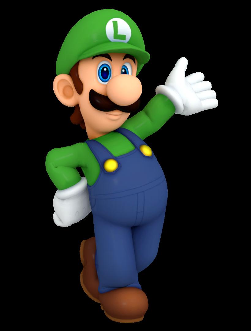 Luigi In The Top 100 Winning Pose By Nintega Dario On Deviantart Luigi Super Mario Brothers Mario And Luigi