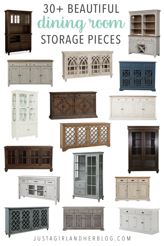 30+ Beautiful Dining Room Storage Pieces