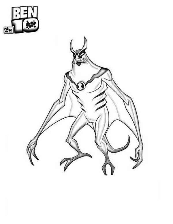 Jetray From Ben 10 Alien Force Coloring Page Download Print Online Coloring Pages For Free Color Ben 10 Alien Force Coloring Pages Online Coloring Pages