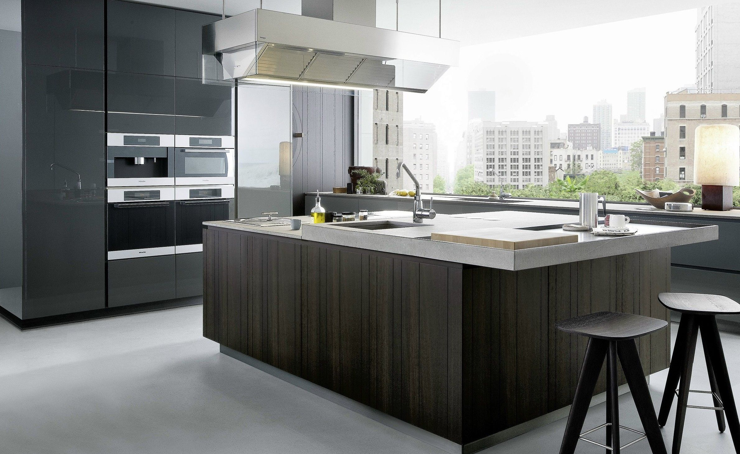 cocinas lujosas y modernas gunni trentino son