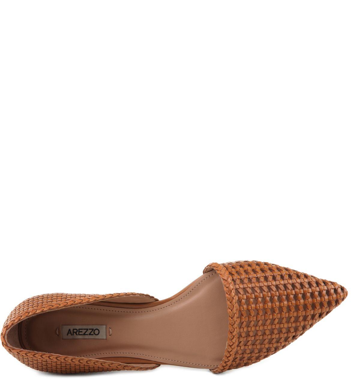 6857da292 Sapatilha Tramada Tan | Arezzo | Bags, clutches, shoes | Sapatos ...