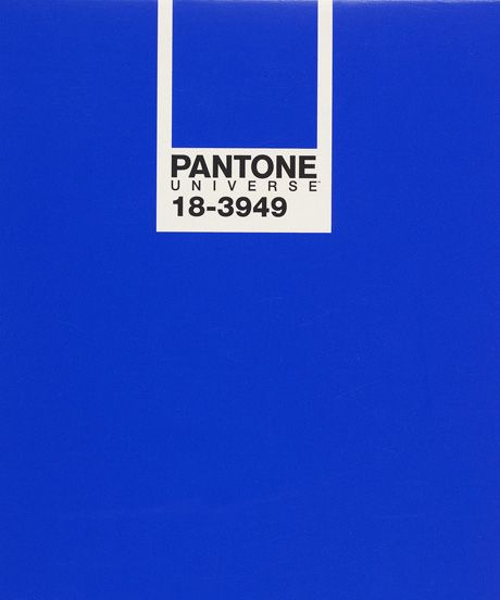 Pantone 2014 Color Of The Year Dazzling Blue Pantone