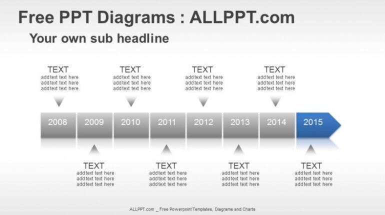 8 Years Timeline Ppt Diagrams In 2021 Powerpoint Timeline Template Free Infographic Template Powerpoint Powerpoint Template Free