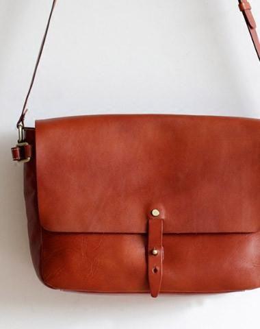 d9782b8e1a Handmade Leather bag for women leather shoulder bag crossbody bag messenger  bag