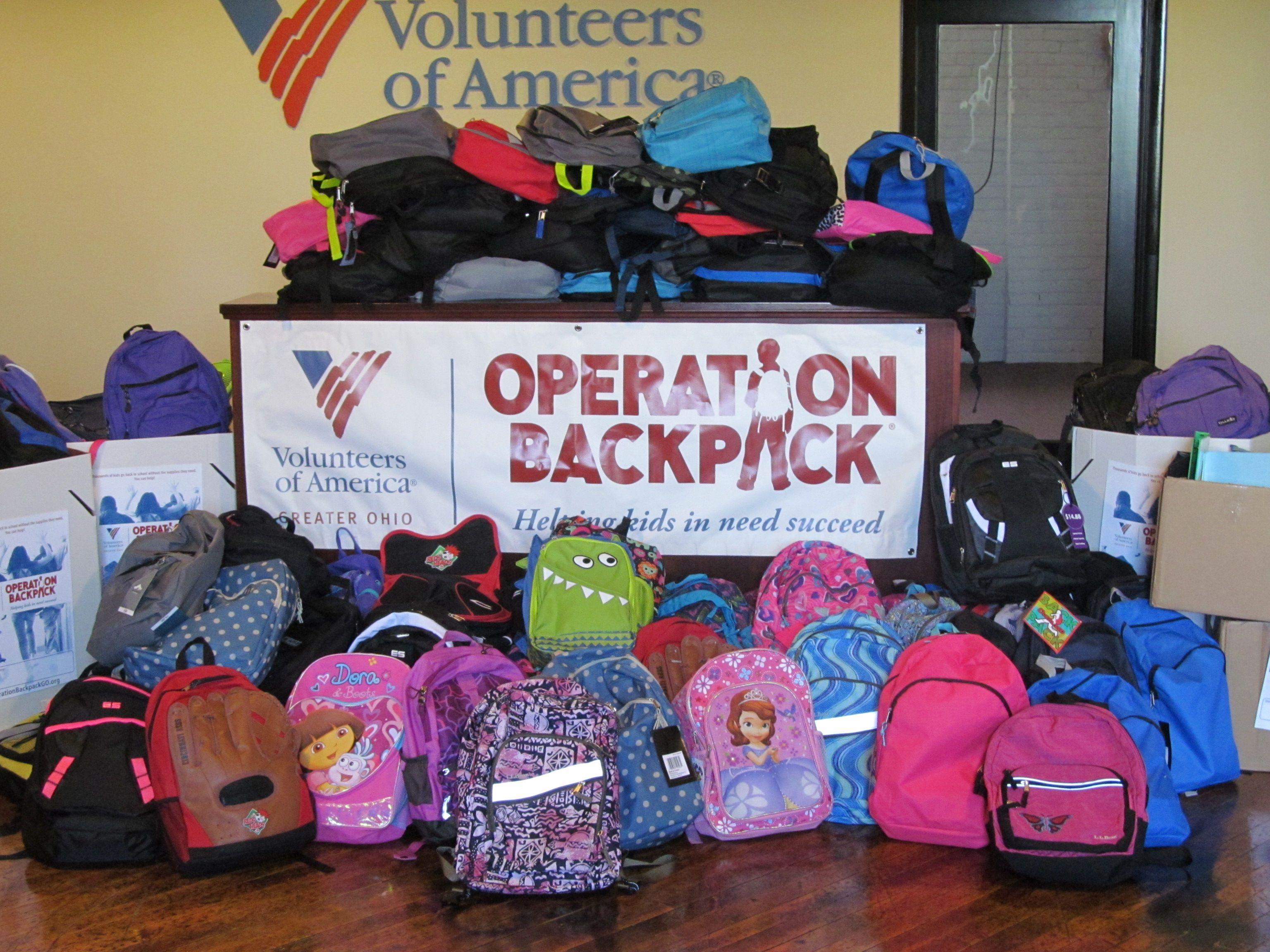 Operation Backpack® Donation drive, Volunteer, Children