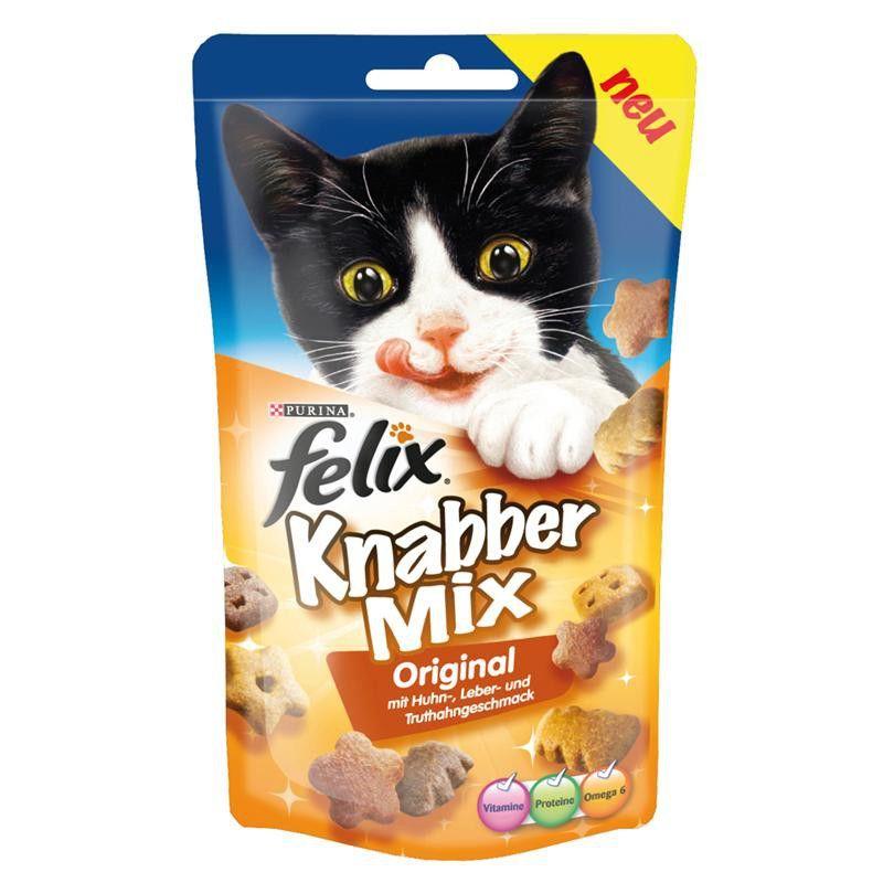 Felix-Snack-KnabberMix-Original 8x-60g 5,-
