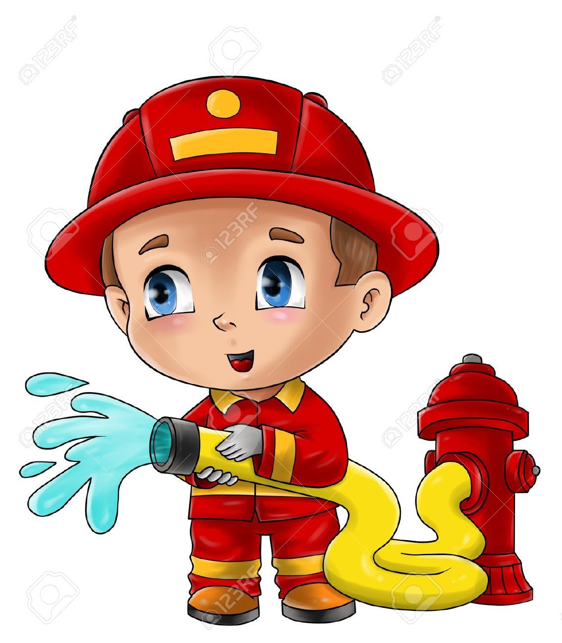 23++ Fire fighter clipart free information