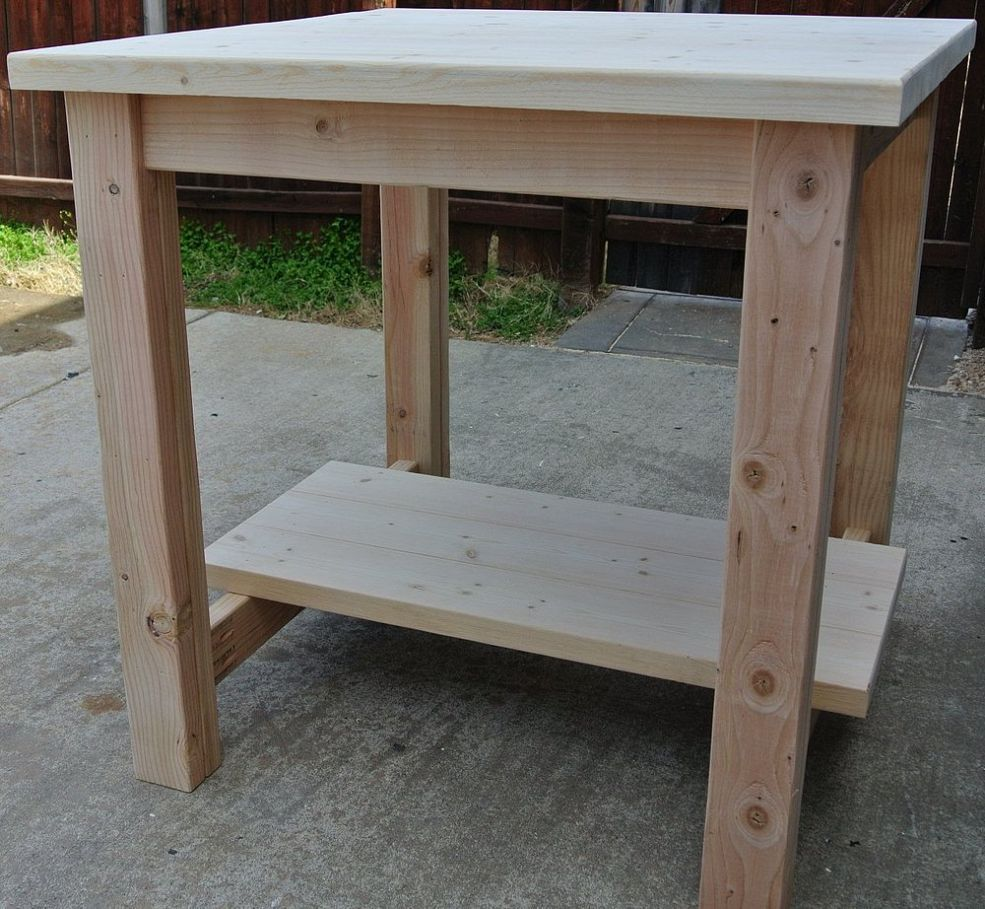 Quick And Inexpensive Pub Table Home High