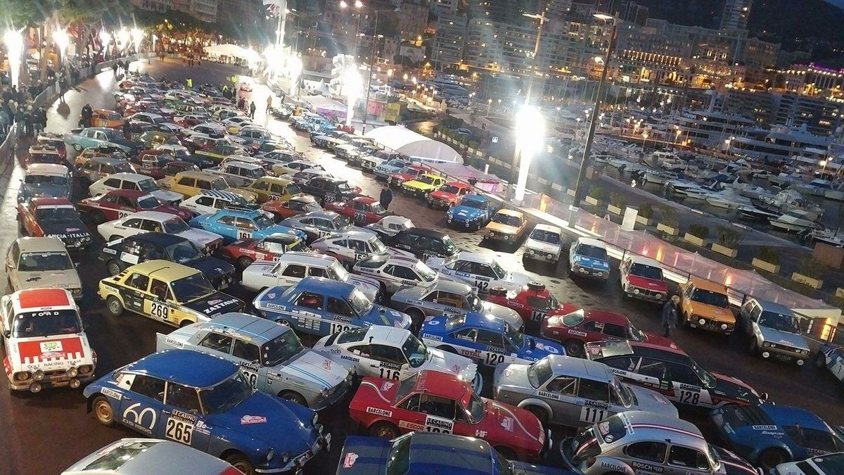 Monaco harbour Parc ferme, see anything you like