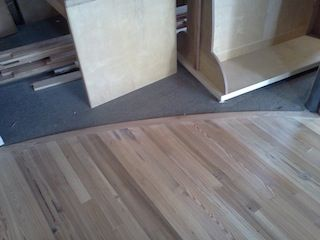 Custom Hardwood Floor