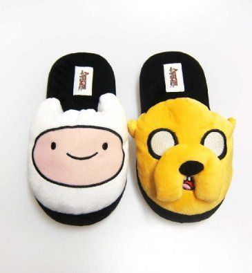Adventure Time Jake Kids Childrens Fun 3D Slippers