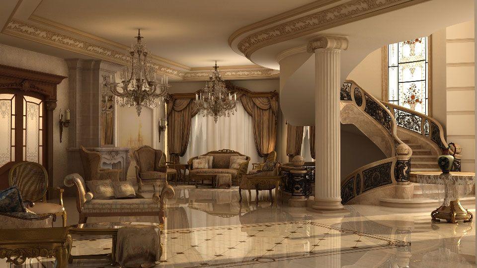 Ashraf El Serafey Villa Interior and Exterior design Project Idea ...